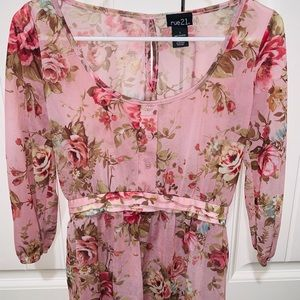 Rue21 Floral Blouse (Small)